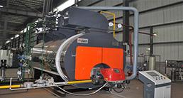 可以分为常压热水锅炉和承压热水锅炉两种