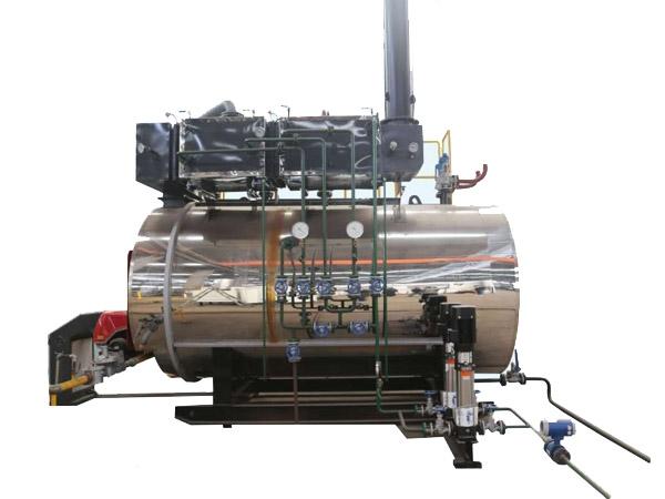 WNS低氮冷凝式燃气蒸汽锅炉
