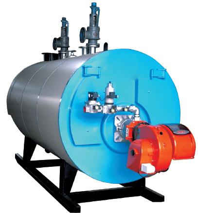 WNS卧式燃油气承压热水锅炉